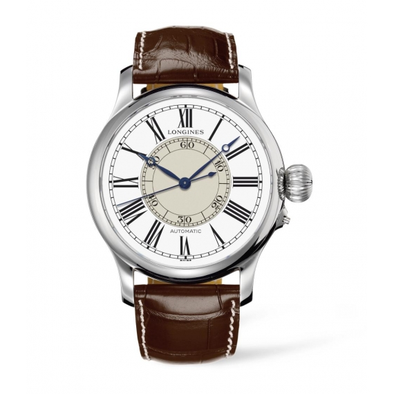 Longines Weems Second-Setting Watch L2.713.4.11.0