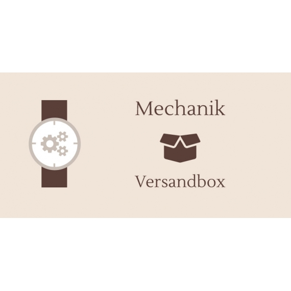 Versandbox für Mido Mechanik
